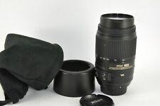 Nikon AF-S DX 55-300mm f/4.5-5.6G ED VR ZOOM Lens for D600 D50 D100 D200 D90 D3