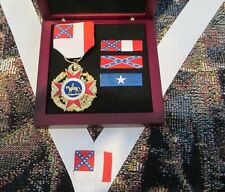 Loyal Legion of the Confederacy - Non-Civil War Csa Medal Boxed Special
