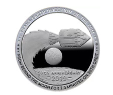 2019 Apollo 11 Series #7 Earthbound 1 oz Silver in Capsule (Proof-Like)