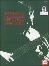 Juan Serrano falmenco Guitar Solos Tab Musik Buch mit Audio Concert & Quartette