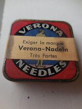 Verona pick up needles  original 1940's- condition:Excelent never been opened