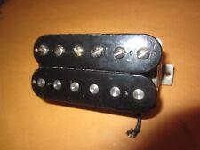 Vintage Circa 1980's Gibson USA Humbucker Electric Guitar Pickup Black