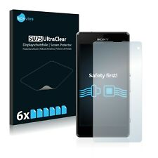 6x Savvies Screen Protector for Sony Xperia Z1 Compact D5503 Ultra Clear