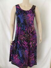 Travel Knit Dress, Long A-LineTank, NEW,  stretchy wash&wear poly/span #207