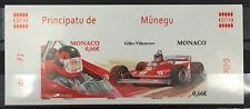 MONACO n° 29915/16 F1 Automobille Gilles Villeneuve non dentelé TB ** Cdf !