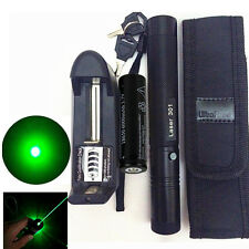 10 Miles Military Green 5mw 532nm Laser Pointer Pen Light Visible Beam Burning