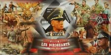 Leaders of Germany in World War II Erwin Rommel Tchad Chad s/s #tchad2014-04