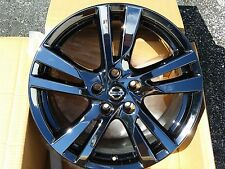 "18"" Black Chrome Nissan Altima Style Wheels PVD 18x7.5 Factory OEM Rims 62594"