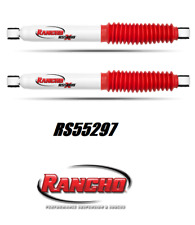 Rancho RS5000X Rear Shock Absorber Set For Silverado / Sierra / Ram / Hummer H2