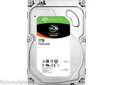 """Seagate 1 TB 3.5"""" FIRECUDA SSHD Drive SATA6GB/s  FLAT 10% OFF CODE """"FLAT10OFFF"""""""