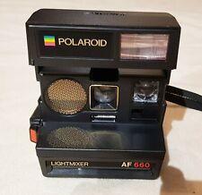 Polaroid 600 Sofortbildkamera 660 AF Lightmixer Camera Kamera Blitz abschaltbar