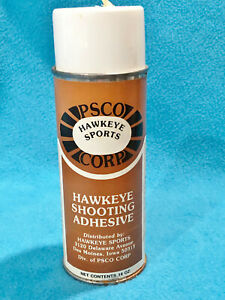 VINTAGE PSCO HAWKEYE SPORTS CORP - SHOOTING ADHESIVE - COLLECTORS ITEM