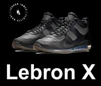 "LEBRON JAMES X JE ICON QS ""JOHN ELLIOTT"" ICON TRIPLE BLACK LIMITED EDITION AQ011"