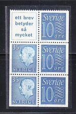 Sweden 1961 MNH Mi H-Blatt 24 King Gustaf VI Adolf