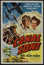 16MM Canal Zone (1942)  Action, Adventure, Drama-SHARP ORIGINAL PRINT!