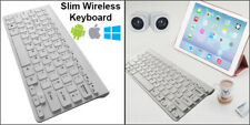 Slim Wireless 78 Key Compact Thin Keyboard For iMac iPad Android Phone Tablet PC