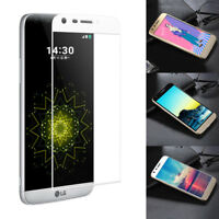 9H HD Clear 3D Curved Full Cover Tempered Glass Film Screen Protector For LG G5