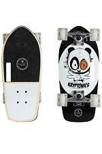 "Kryptonics 19"" Stubby Panda Vibes Cruiser Board - White/Black"
