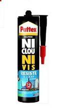 MASTIC COLLE FIXATION NI CLOU NI VIS TOUS MATERIAUX RESISTE A L' EAU PATTEX