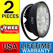 "2x 4400LM Flood Super Bright 5"" LED 27W Work Light Round ATV Jeep Boat Offroad"