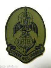 Patch Folgore 185 RRAO Paracadutista Verde Toppa per Mimetica Vegetata Militare