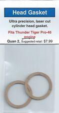 Thunder Tiger Pro-46 Cylinder Head Gasket 2 Pack NIP