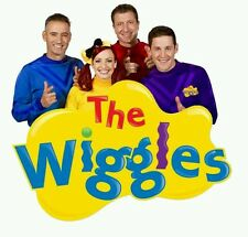 FOR DARK COTTON The Wiggles - Shirt Value Iron On Transfer --  9x9cms