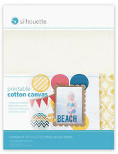 SILHOUETTE - Printable Cotton Canvas sheets