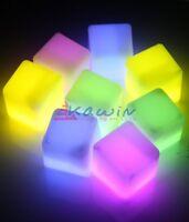 Cubetti di ghiaccio luminosi starlight 10pz Ice cube glow prodotti per feste