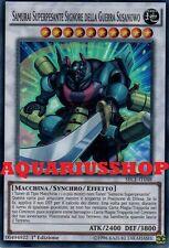 Yu-Gi-Oh Samurai Superpesante Signore della Guerra Susanowo SECE-IT048 Super ITA