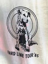 Vintage 85 THE BLASTERS Hardline Dog Tour THIN T-Shirt ROCKABILLY PUNK ROCK Sm