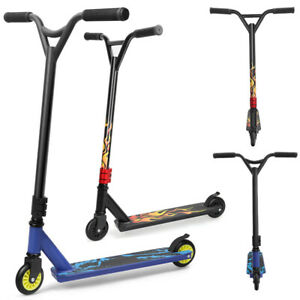 Stunt Scooter Pro Push Kick Trick Scooters City Kids Adult Outdoor 360° 2 Wheel