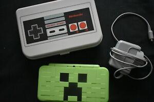 Nintendo 2DS XL Minecraft Creeper Edition  Console - used