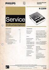 Service Manual-Anleitung für Philips N 2209