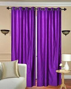 Polyester Window Curtains Heavy Plain /Drape/Panel/Home Garden Door Decorative