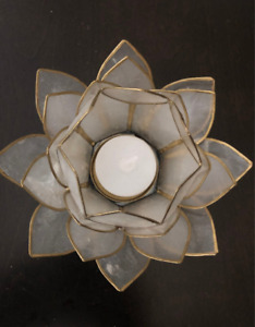 Superbe Beaux bougeoirs styles lotus