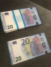 Reproduction x100 Billets de 20€ Movie Money/Prop money