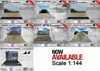 Coastal Kits 1:144 Scale Base & Background Sets