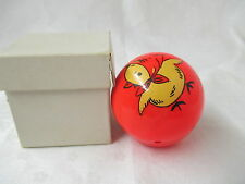 Vtg 1950's Toy Chicken Ball weighted to wobble USA Pat #1709841 Fisher Price ?