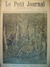 Meudon hunting the tiger of seagoing rescuer Douarnenez le petit journal 1897
