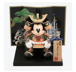 Disney Mickey Mouse Samurai Warrior Figure Doll JapanTokyo Disney Resort Limited
