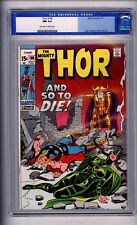 CGC (MARVEL) JOURNEY INTO MYSTERY/THOR 190 NM 9.4 1971 O-OW PAGES