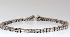 Natural Diamond Tennis Bracelet 5.00ct. G/Vs 14kt 7.5 inch