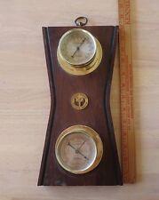 Vintage barometer thermometer mid century Bauhaus art nouveau deco