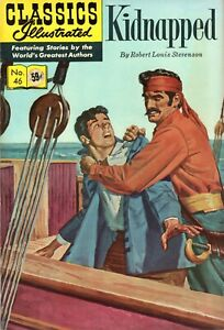 Classics Illustrated #46, Summer, 1970 - Kidnapped - Fine - HRN 169!