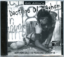 GG Allin Doctrine of Mayhem CD Sealed