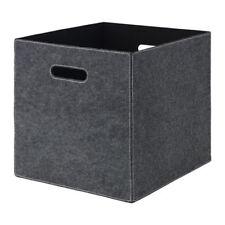 IKEA BLÄDDRA grau KALLAX Korb Box Aufbewahrung 33x38x33 Filz Dröna inkl. Versand