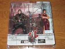 Neca Resident Evil 4 Leon S. Kennedy & Ada Wong 2-pack action figure set MOC
