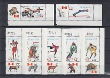 TIMBRE STAMP  7 NICARAGUA Y&T#1486-92 OLYMPIQUE 88 NEUF**/MNH-MINT 1988 ~A24