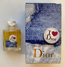 Dior I LOVE DIOR EAU DE TOILETTE 5 ml 0.17 FL OZ MINIATURE VIP GIFT